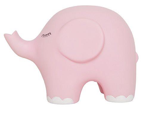 Jabadabado nattlampa elefant, rosa