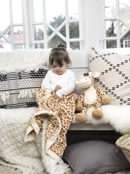 Special: Teddykompaniet Diinglisar med filt (Giraff)