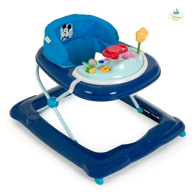 Mellanprodukten: Lära-gå-stol Mickey, Hauck