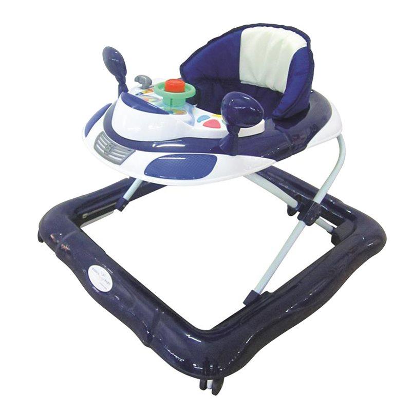 Budgetprodukten: Basson Baby lära-gå-stol, blå