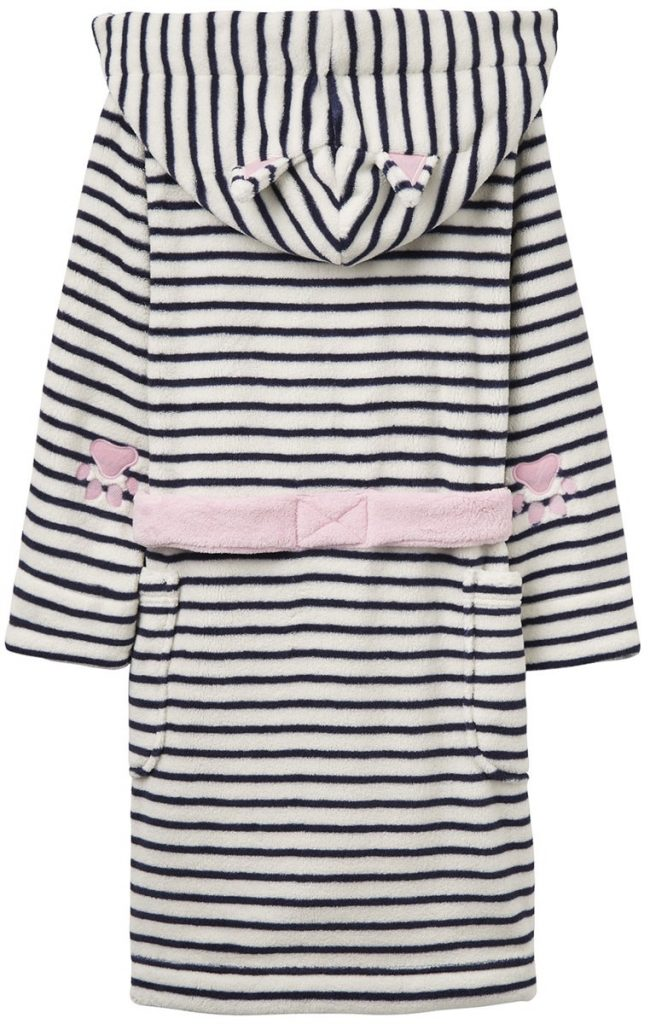 Mellanprodukten: Tom Joule Morgonrock, French Navy Stripe