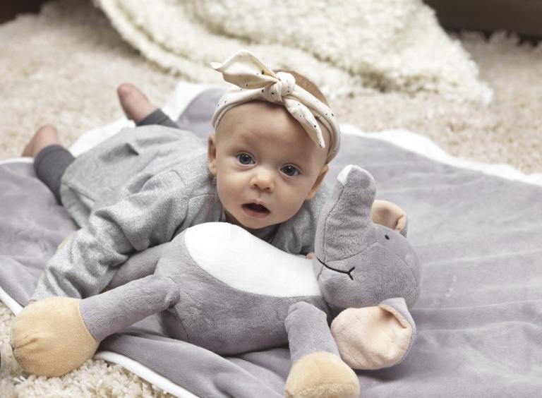 Specialaren: Teddykompaniet Diinglisar med filt (Elefant)